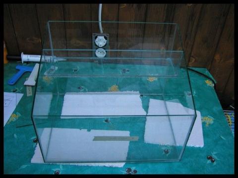 Изготовление аквариума своими руками